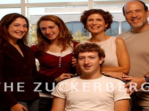 Mark Zuckeberg and Parents