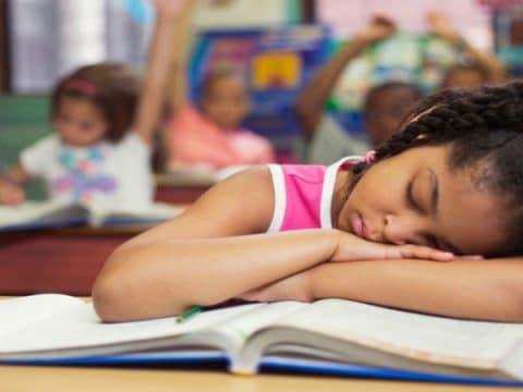 Reading Sleeping