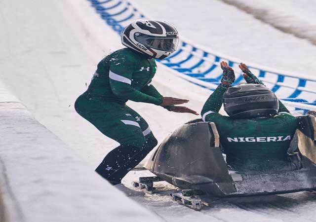 winter olympics nigeria bobsled team