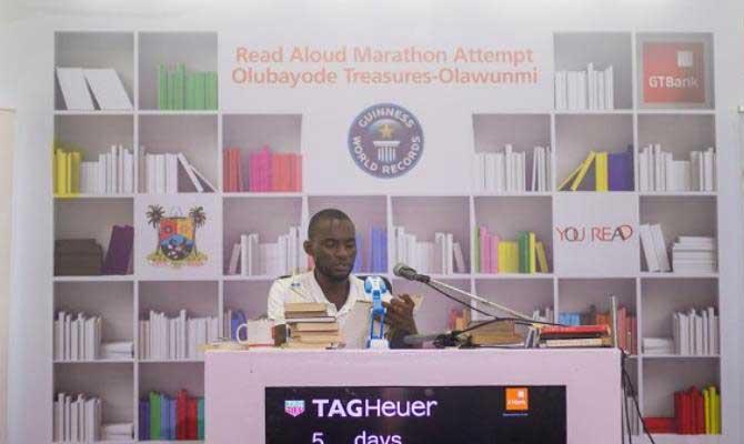 World Record Reading Aloud Marathon