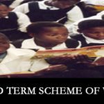 Third Term Scheme of Work