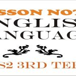 Lesson Note English